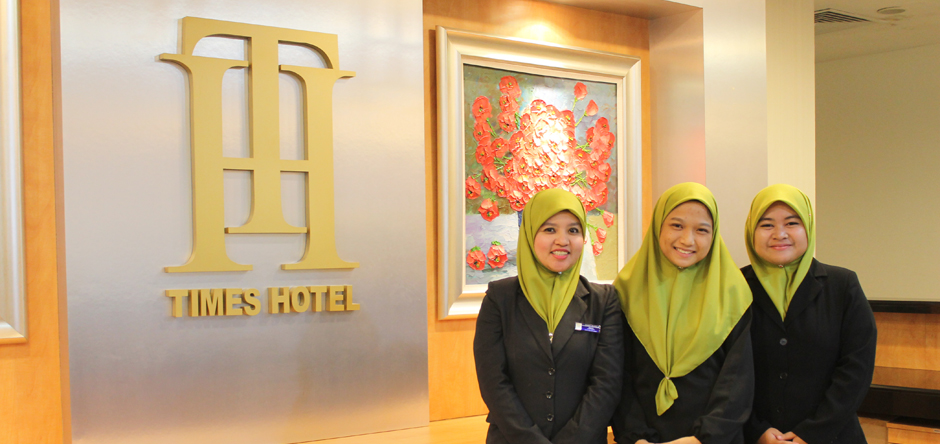 Hospitality Welcome from Times Hotel Staffs
